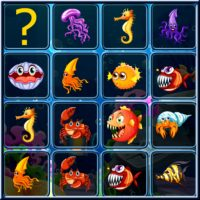 Sea Creatures Cards Match