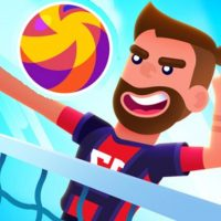 Monster Head Soccer Volleyball Game