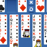 FreeCell Blue