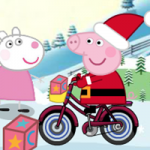 Peppa Pig Christmas Delivery