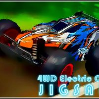 4WD Electric Cars Jigsaw