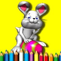 BTS Easter Coloring Book