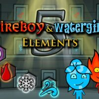 Fireboy and Watergirl 5 Elements Game