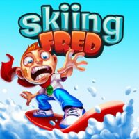 Skiing Fred