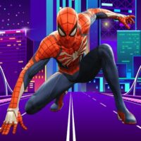 Spiderman Defense City From Zombies